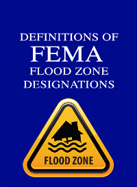 Definitions of FEMA Flood Zone Designations